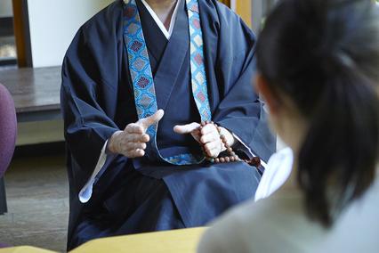 お寺への事前訪問