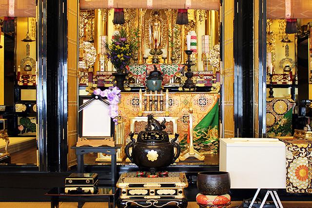ボンズナビの寺院葬基本様式