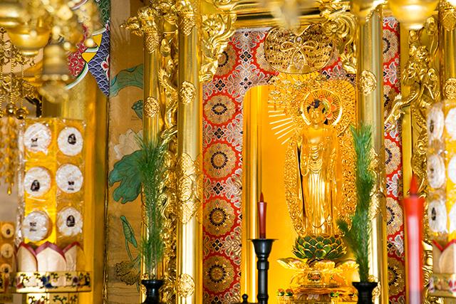 お寺の御本尊